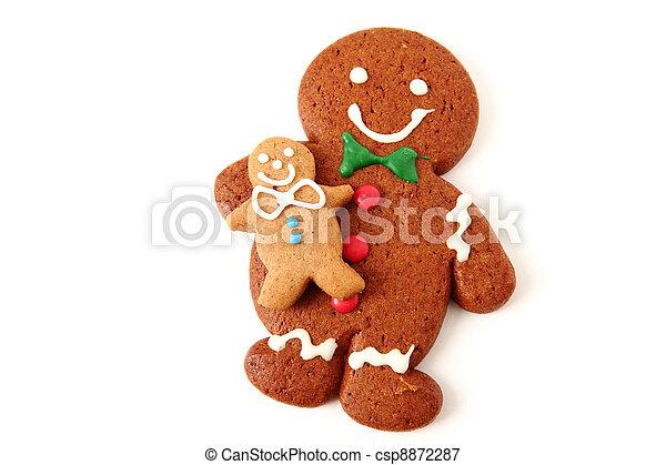 Gingerbread Man - csp8872287