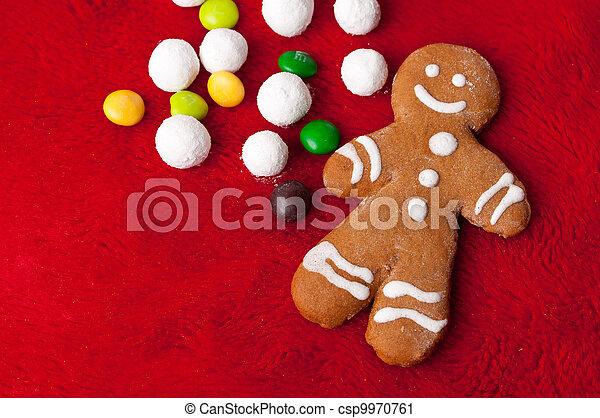 gingerbread man - csp9970761