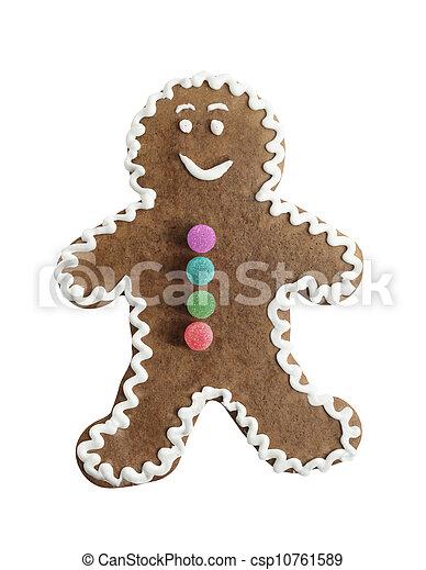 gingerbread man - csp10761589