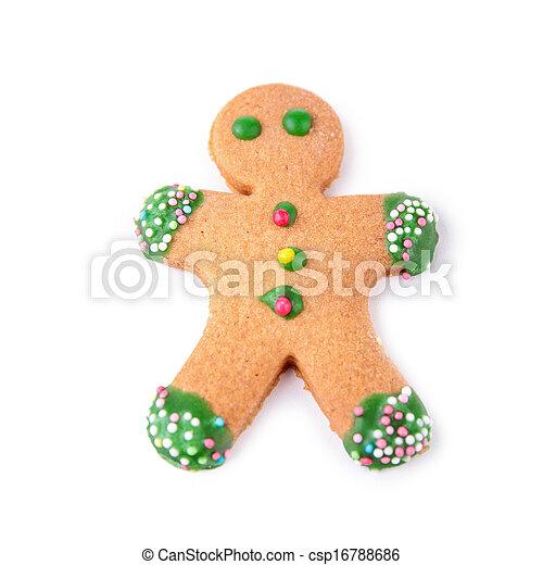 gingerbread man - csp16788686