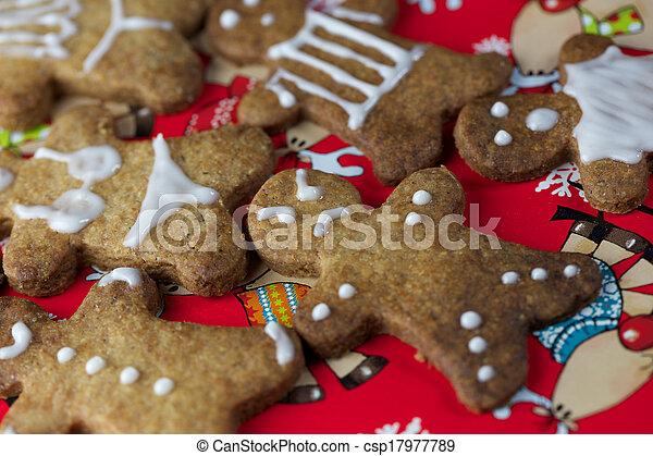 Gingerbread Man - csp17977789
