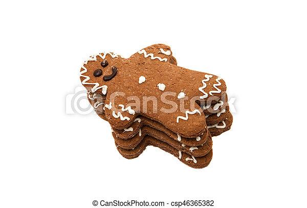 gingerbread man - csp46365382