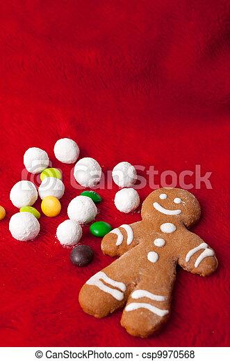 gingerbread man - csp9970568