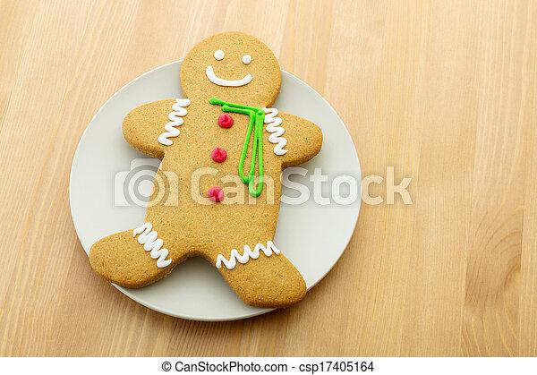 Gingerbread man - csp17405164