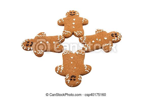 gingerbread man - csp40175160