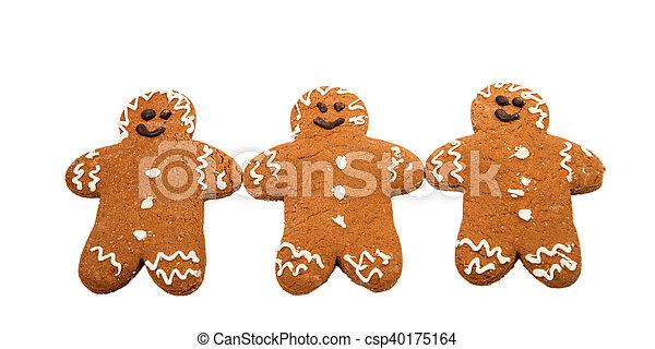 gingerbread man - csp40175164
