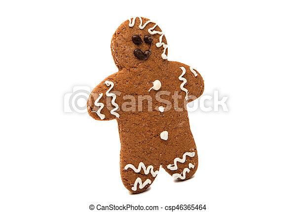gingerbread man - csp46365464