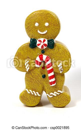 Gingerbread man - csp0021895