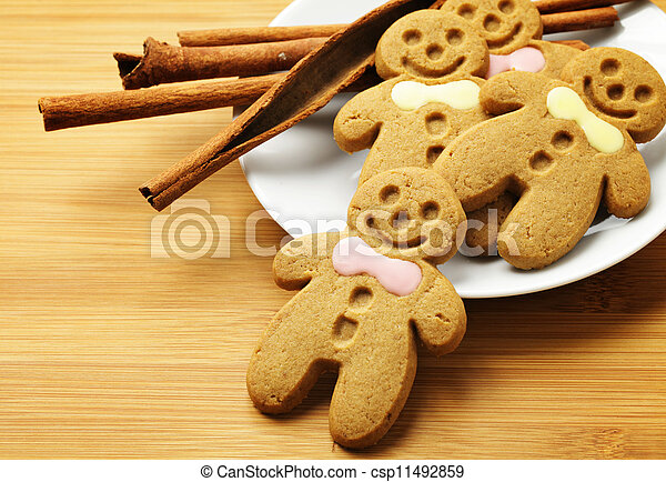Gingerbread Man - csp11492859