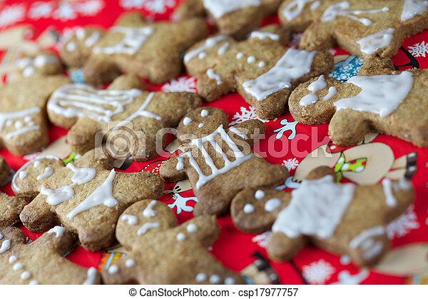 Gingerbread Man - csp17977757