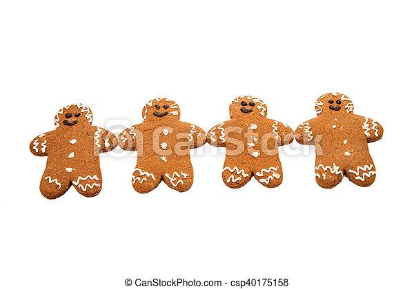 gingerbread man - csp40175158