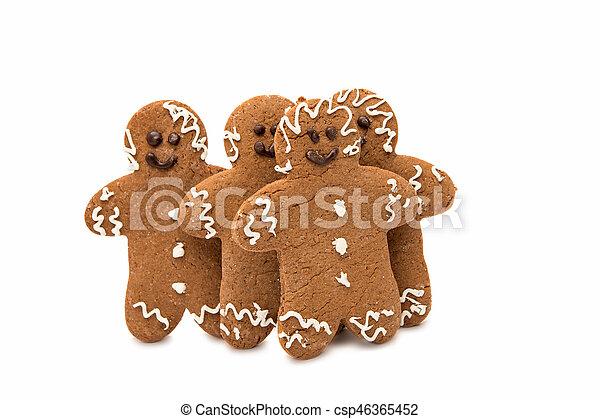 gingerbread man - csp46365452