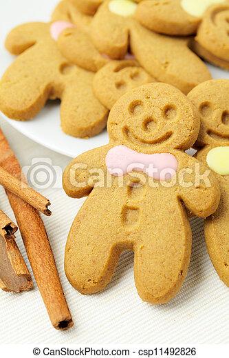 Gingerbread Man - csp11492826
