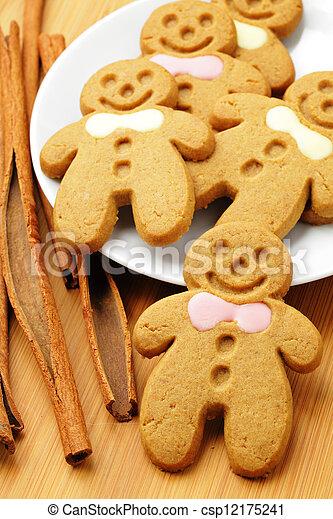 gingerbread man - csp12175241