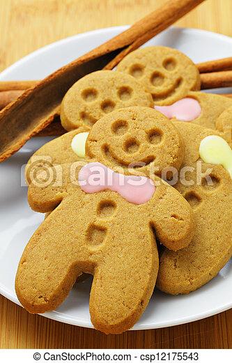 Gingerbread Man - csp12175543