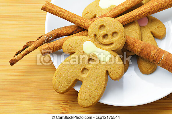 Gingerbread Man - csp12175544