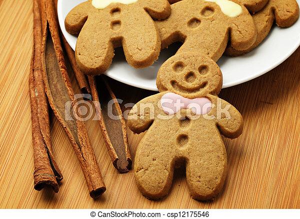Gingerbread Man - csp12175546