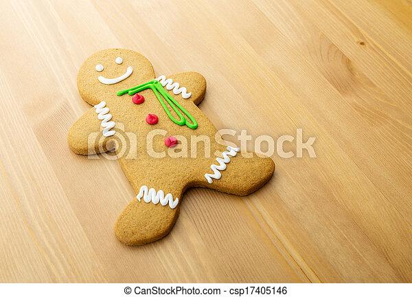 Gingerbread man - csp17405146