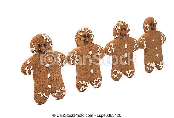 gingerbread man - csp46365420