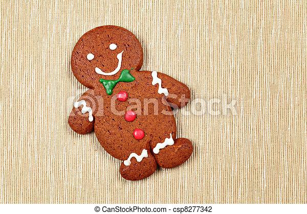 Gingerbread Man - csp8277342