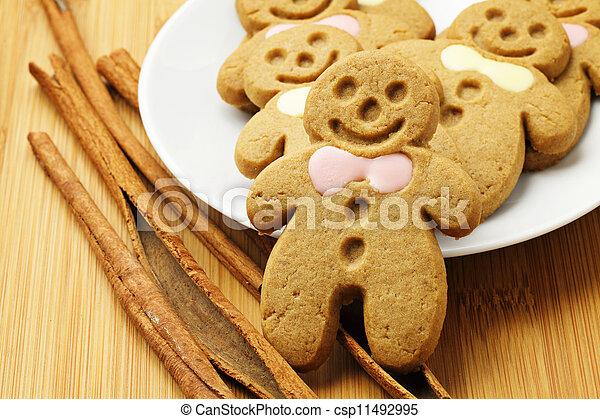 Gingerbread Man - csp11492995