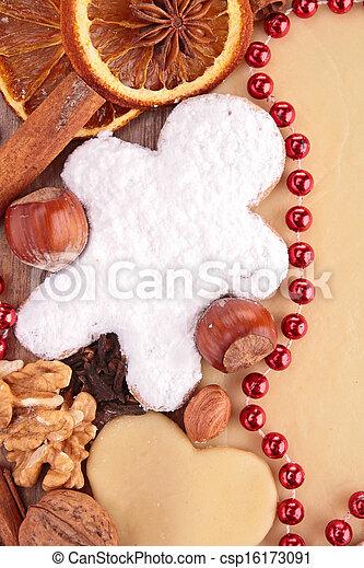 gingerbread man - csp16173091