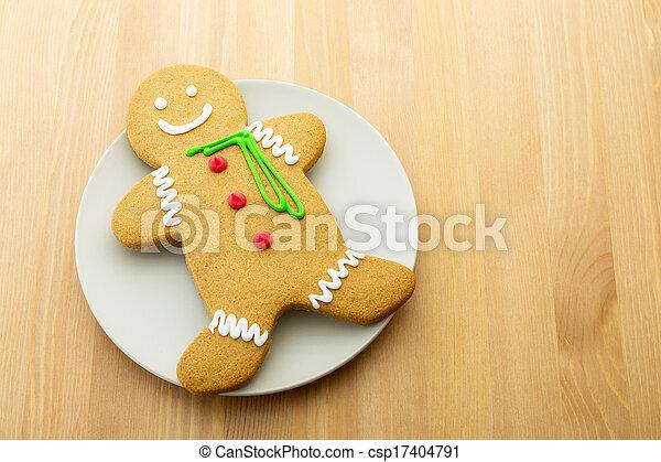 Gingerbread man - csp17404791