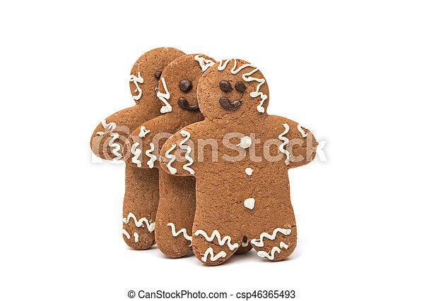 gingerbread man - csp46365493