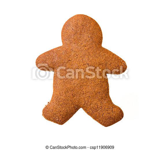 Gingerbread man - csp11906909