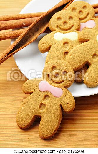 Gingerbread Man - csp12175209