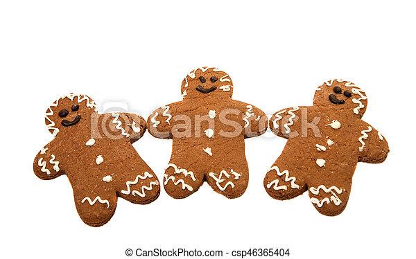 gingerbread man - csp46365404