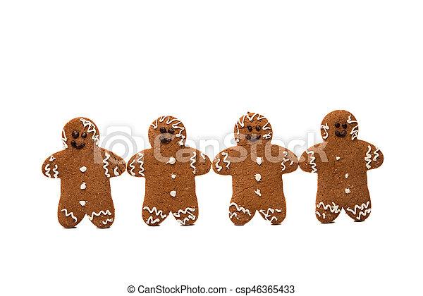 gingerbread man - csp46365433
