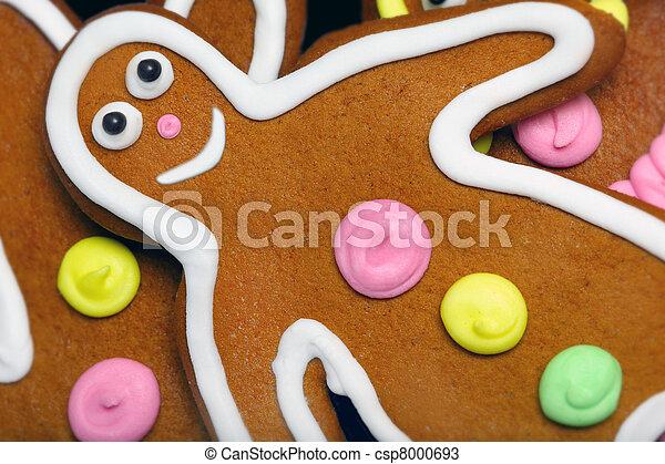 Gingerbread man - csp8000693