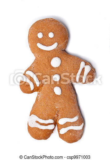 gingerbread man - csp9971003