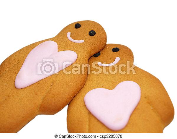 Gingerbread people - csp3205070