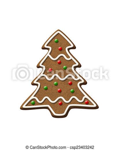 Gingerbread Christmas Tree.Gingerbread Tree Christmas Cookie