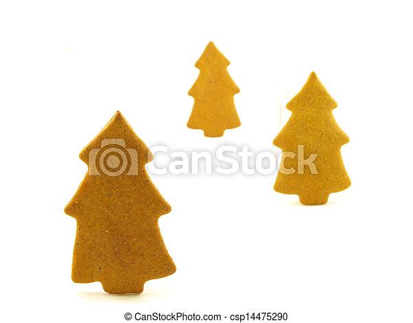 Gingerbread tree - csp14475290