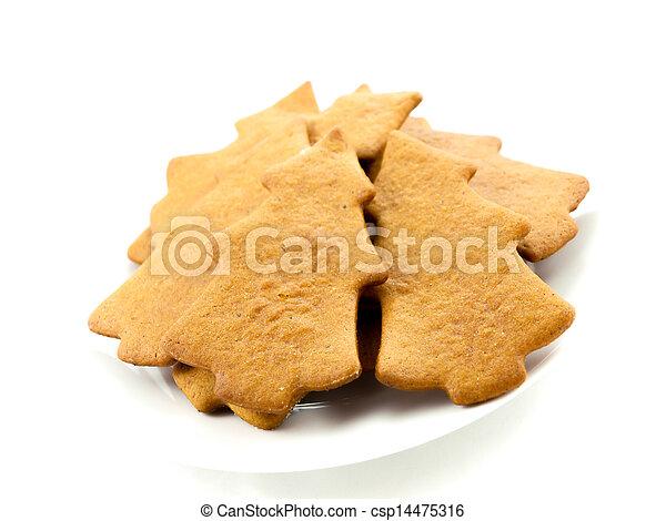 Gingerbread trees - csp14475316