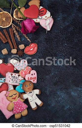 Gingerbreads for love or marrige - csp51531042