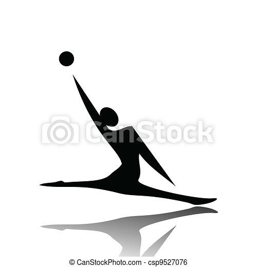 ginnastiche ritmiche - csp9527076