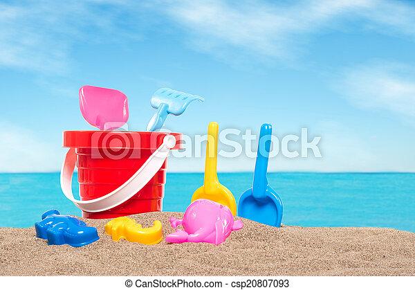 giocattoli spiaggia - csp20807093