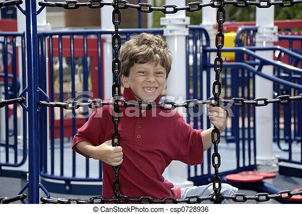 gioco, bambino - csp0728936
