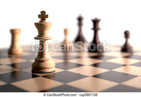 gioco, scacchi - csp3691158
