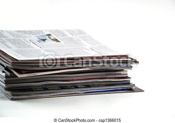 giornali, pubblicazione periodica - csp1366015