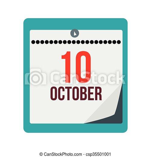 Calendario Giorno.Giorno Columbus Calendario Icona