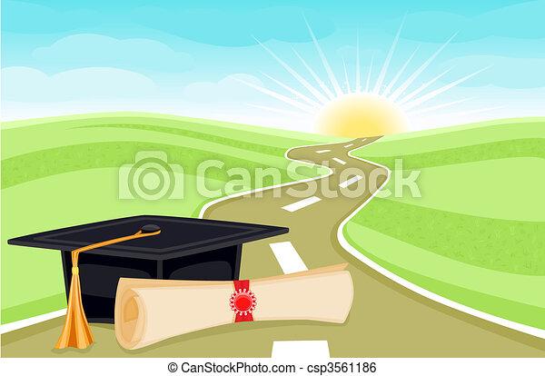 giorno, graduazione - csp3561186