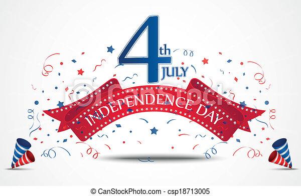 giorno indipendenza, celebrazione - csp18713005