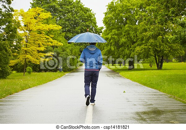 giorno piovoso - csp14181821