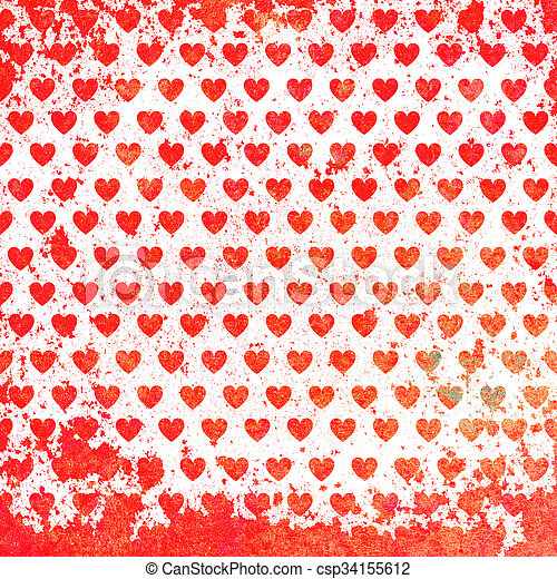 giorno valentines, scheda - csp34155612