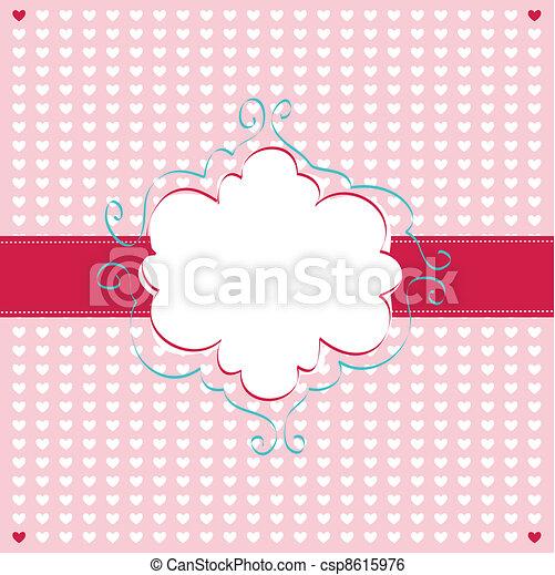 giorno valentines, scheda - csp8615976